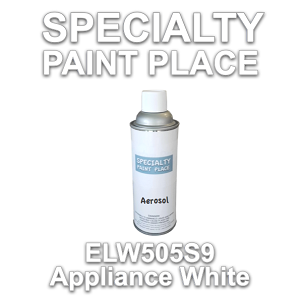 ELW505S9 appliance white Axalta touch-up paint 16oz aerosol can