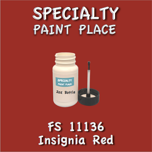 11136 insignia red 2oz bottle with brush