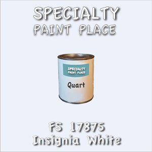 17875 insignia white quart