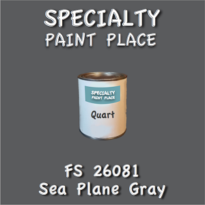 26081 sea plane gray quart