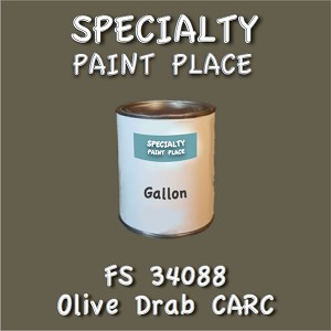 34088 olive drab carc gallon
