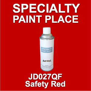 JD027QF safety red AkzoNobel touch-up paint 16oz aerosol can