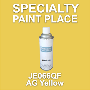 JE066QF ag yellow AkzoNobel touch-up paint 16oz aerosol can