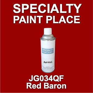 JG034QF red baron AkzoNobel touch-up paint 16oz aerosol can