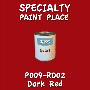 P009-RD02 dark red quart