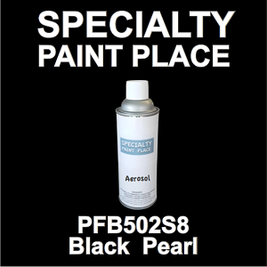 PFB502S8 black pearl Axalta touch-up paint 16oz aerosol can
