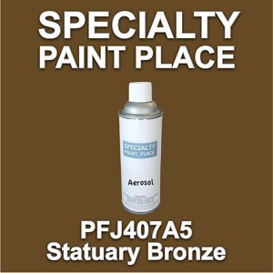 PFJ407A5 statuary bronze Axalta touch-up paint 16oz aerosol can