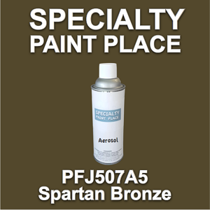 PFJ507A5 spartan bronze Axalta touch-up paint 16oz aerosol can