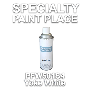 PFW501S4 yolk white Axalta touch-up paint 16oz aerosol can