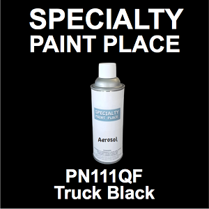 PN111QF Truck Black AkzoNobel touch-up paint 16oz aerosol can