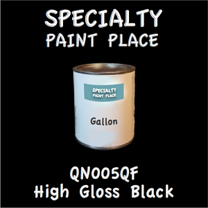 QN005QF High Gloss Black Gallon Can
