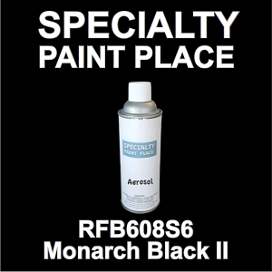 RFB608S6 Monarch Black II Axalta touch-up paint 16oz aerosol can