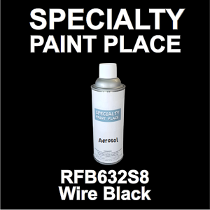 RFB632S8 wire black Axalta touch-up paint 16oz aerosol can