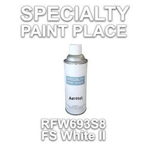 RFW693S8 fs white II Axalta touch-up paint 16oz aerosol can