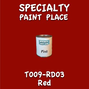 T009-RD03 red pint