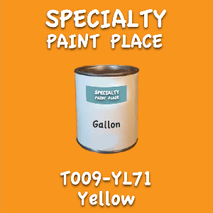 T009-YL71 yellow gallon
