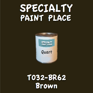 T032-BR62 Brown Quart Can