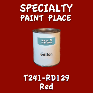 T241-RD129 red gallon