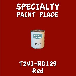T241-RD129 red pint