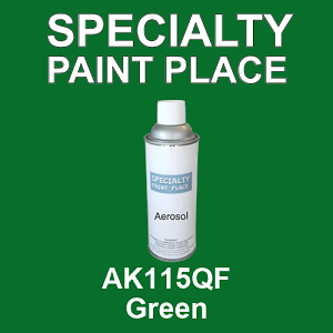 AK115QF Green - AkzoNobel 16oz aerosol spray can