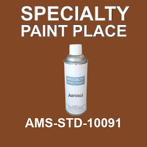 AMS-STD-10091  - Federal Standard 595 16oz aerosol spray can