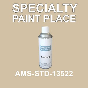 AMS-STD-13522  - Federal Standard 595 16oz aerosol spray can