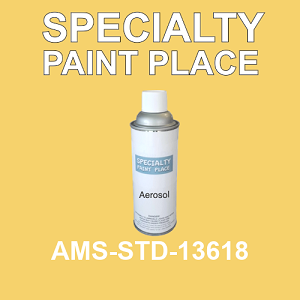 AMS-STD-13618  - Federal Standard 595 16oz aerosol spray can