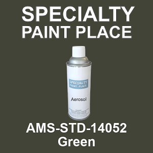 AMS-STD-14052 Green - Federal Standard 595 16oz aerosol spray can