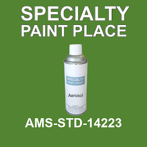 AMS-STD-14223  - Federal Standard 595 16oz aerosol spray can