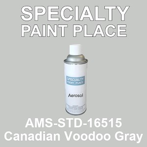 AMS-STD-16515 Canadian Voodoo Gray - Federal Standard 595 16oz aerosol spray can