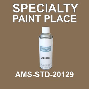 AMS-STD-20129  - Federal Standard 595 16oz aerosol spray can