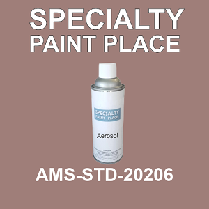 AMS-STD-20206  - Federal Standard 595 16oz aerosol spray can