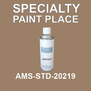 AMS-STD-20219  - Federal Standard 595 16oz aerosol spray can