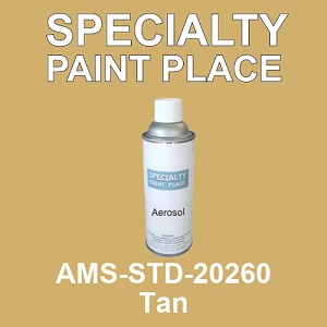 AMS-STD-20260 Tan - Federal Standard 595 16oz aerosol spray can