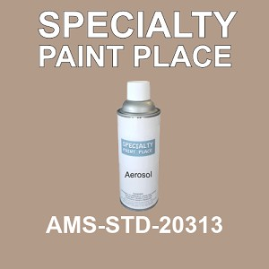AMS-STD-20313  - Federal Standard 595 16oz aerosol spray can