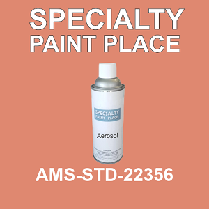 AMS-STD-22356  - Federal Standard 595 16oz aerosol spray can