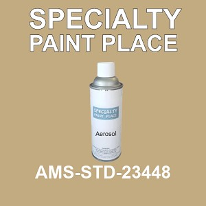 AMS-STD-23448  - Federal Standard 595 16oz aerosol spray can