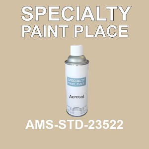 AMS-STD-23522  - Federal Standard 595 16oz aerosol spray can