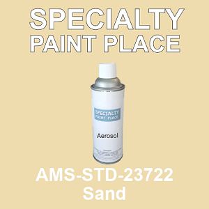 AMS-STD-23722 Sand - Federal Standard 595 16oz aerosol spray can