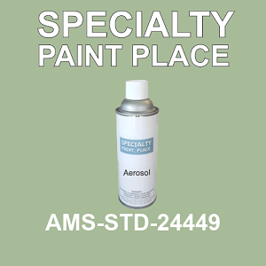 AMS-STD-24449  - Federal Standard 595 16oz aerosol spray can