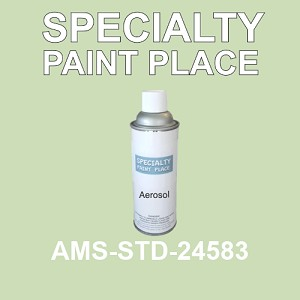 AMS-STD-24583  - Federal Standard 595 16oz aerosol spray can