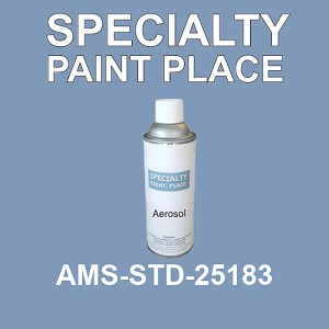 AMS-STD-25183  - Federal Standard 595 16oz aerosol spray can