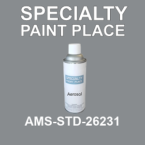 AMS-STD-26231  - Federal Standard 595 16oz aerosol spray can