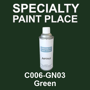 C006-GN03 Green - Cardinal 16oz aerosol spray can