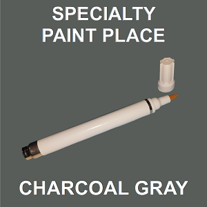 Charcoal Gray Paint >> Charcoal Gray Architectural Touch Up Paint Pen