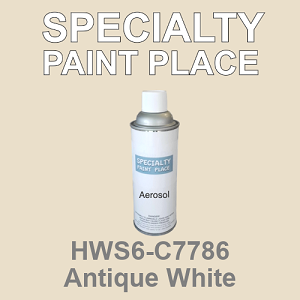 HWS6-C7786 Antique White - Sherwin Williams 16oz aerosol spray can