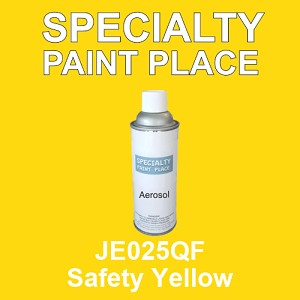 JE025QF Safety Yellow - AkzoNobel 16oz aerosol spray can