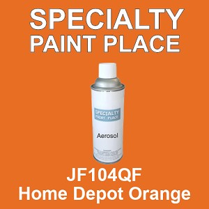 JF104QF Home Depot Orange - AkzoNobel 16oz aerosol spray can