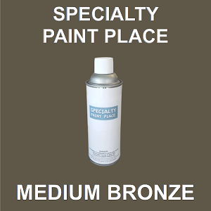 architectural touch up paint medium bronze 16oz aerosol spray can