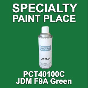 PCT40100C jdm f9a green PPG touch-up paint 16oz aerosol can